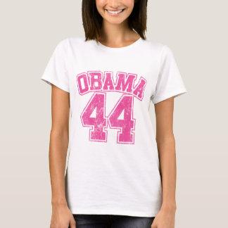obama 44 femmes légères roses t-shirt