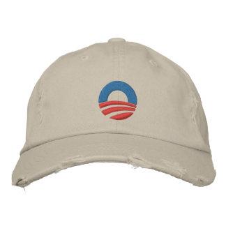 Obama a brodé la casquette de baseball de logo