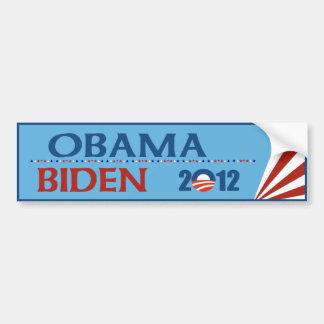 Obama - adhésif pour pare-chocs 2012 de Biden Autocollant Pour Voiture