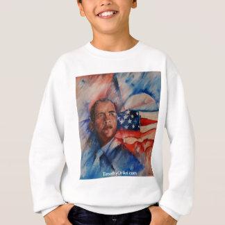Obama badine le sweatshirt