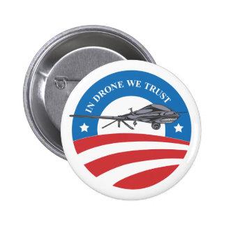 obama dans le bourdon nous bouton de Confiance-vic Badge