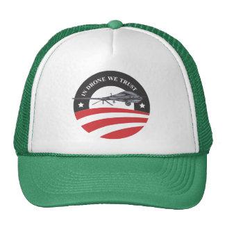 Obama-Dans le bourdon nous faisons confiance au ch Casquette De Camionneur