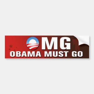Obama doit aller adhésif pour pare-chocs autocollant de voiture