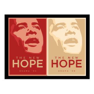 """Obama """"du nouvel carte postale espoir"""""""