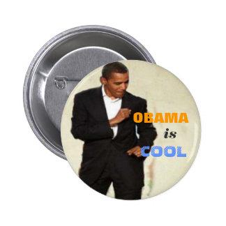 Obama est bouton frais pin's