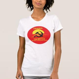Obama est un T-shirt socialiste