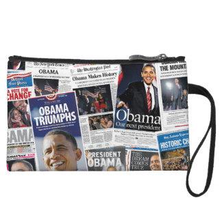 Obama gagne 2008/2012 bourse de collage de journal