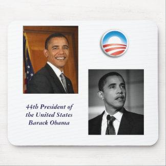obama-haut-route, barack, ObamaLogo, quarante-quat Tapis De Souris