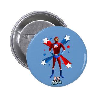 Obama héroïque badge