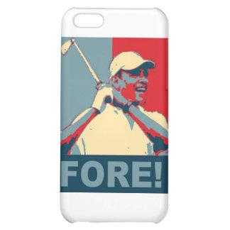 Obama jouant au golf À L AVANT