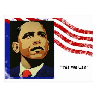 Obama-Oui nous pouvons (la carte postale)