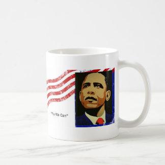 Obama/oui nous pouvons mug