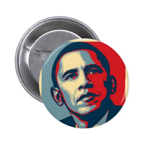 obama-oui--pouvez badge avec épingle