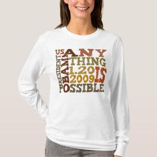 OBAMA quelque chose est possible - T-shirt