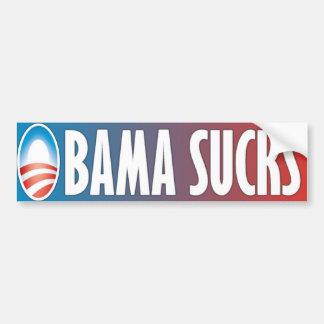 Obama suce autocollant pour voiture