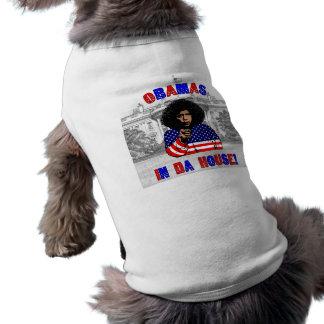 Obamas dans la Chambre du DA T-shirt Pour Chien