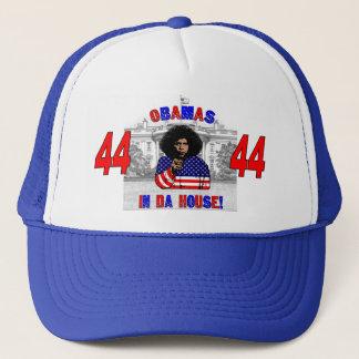 Obamas dans le casquette de Chambre du DA