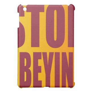 OBÉIR D'ARRÊT D'OXYGENTEES IPAD ÉTUI iPad MINI