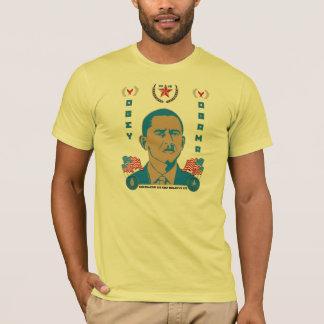 Obéissez camarade Obama Propaganda T-Shirt -