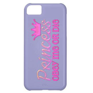 Obéissez la princesse coque iPhone 5C