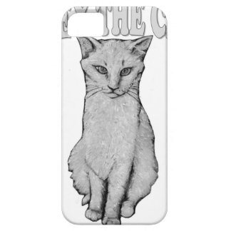 Obéissez le chat iPhone 5 case