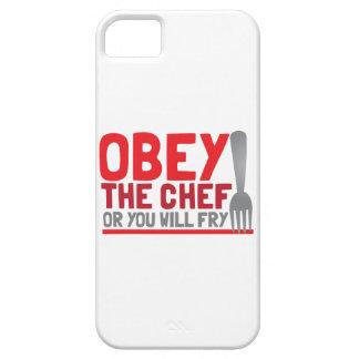 Obéissez le chef ou vous ferez frire étui iPhone 5