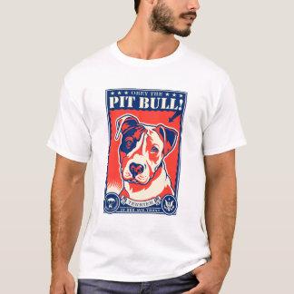 Obéissez le pitbull ! t-shirt
