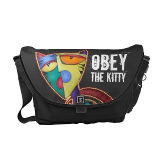 Obéissez le sac messenger à Rickshaw de Kitty Besaces