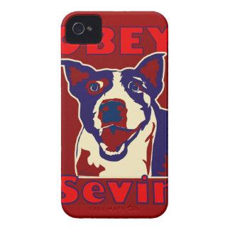 Obéissez Sevin Coque Case-Mate iPhone 4