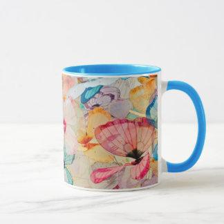 Objet exposé de papillon mug