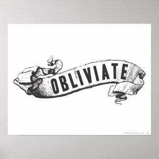 Obliviate Affiche