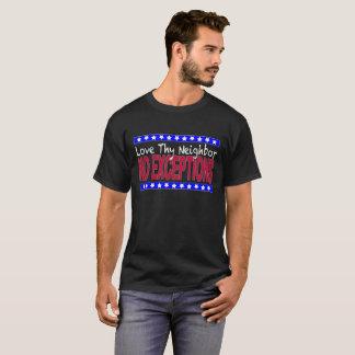 """Obscurité """"aimez Thy voisin"""" T-shirt"""