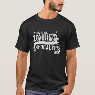 Obscurité d'apocalypse de zombi t-shirt