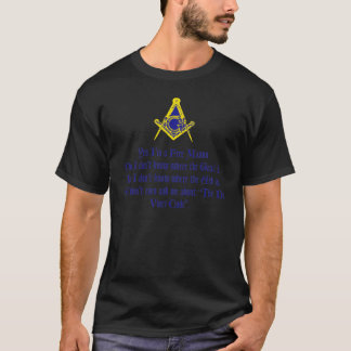 Obscurité de maçon de DaVinci T-shirt
