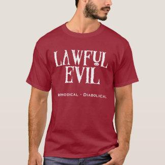 """Obscurité """"de mal légal"""" - t-shirt"""