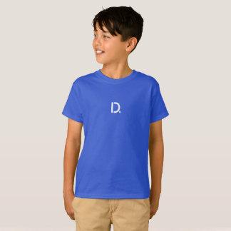 Obscurité de T-shirt de Hanes TAGLESS® des enfants