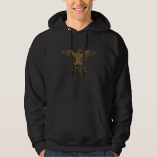 Obscurité Hoody d'ensemble d'or de SPQR Eagle Veste À Capuche