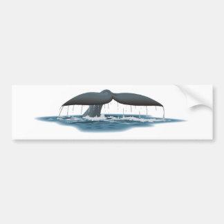 Observateur de baleine autocollant de voiture