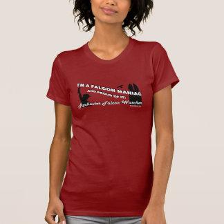 Observateur de faucon de Rochester - je suis un T-shirt