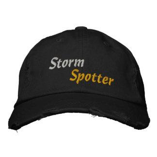 Observateur de tempête de chasseur de tempête de m casquettes brodées