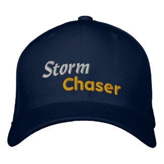 Observateur de tempête de chasseur de tempête de m casquette brodée