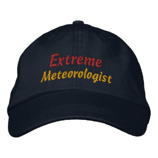 Observateur extrême de tempête de chasseur de temp casquette brodée