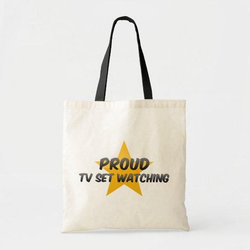 Observation fière de poste TV Sacs Fourre-tout