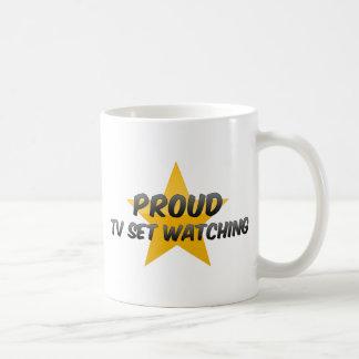 Observation fière de poste TV Tasse À Café