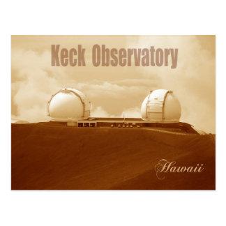 Observatoire astronomique de Keck, Mauna Kea, Cartes Postales