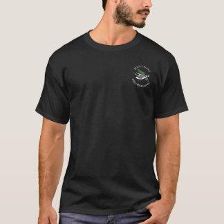 Observatoire rocheux d'oiseau de point t-shirt