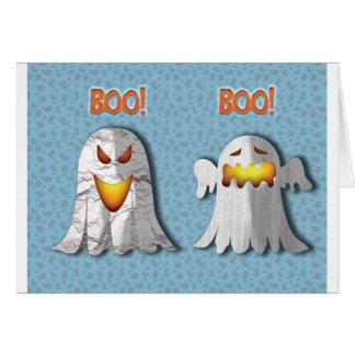 """Observez pour la carte sobre de Halloween du """"Boo"""""""