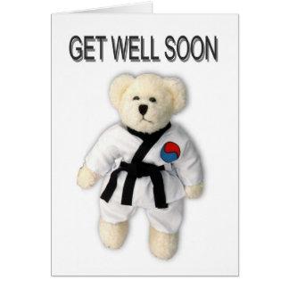 Obtenez bientôt la carte bonne du Taekwondo