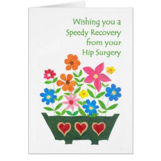 Obtenez la carte bonne - chirurgie de hanche