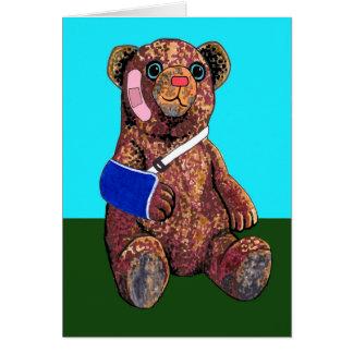 Obtenez la carte bonne d'ours de nounours